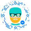 chatbot, chatterbot, conversational agent, virtual agent Robbie