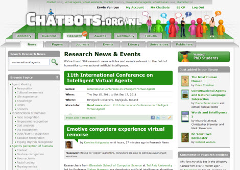 Chatbots.org Version 2.7
