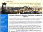 13th International Conference on Intelligent Virtual Agents