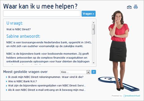 NIBC Direct's Ask Sabine