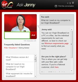 Virgin Media's Ask Jenny