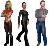 Human-like avatars