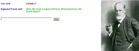 Conversational Agent Freudbot