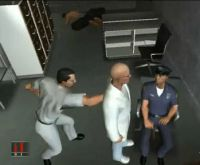 Embodied Agents examples from PC game Hitman