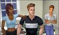 Virtual family of Sims